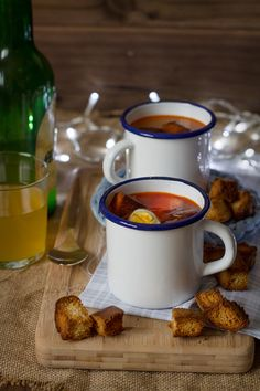 Sopa de pixín con arroz. Receta asturiana