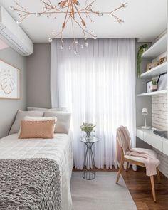 Room Design Bedroom, Small Room Bedroom, Room Ideas Bedroom, Small Rooms, Bedroom Decor, Bed Room, Bedroom Black, Small Spaces, Master Bedroom