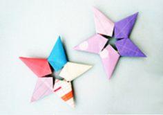 ESQUEMA estrella de papel