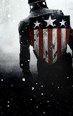 Recipient of the Super-Soldier serum, World War II hero Steve Rogers fights for American ideals as one of the world's mightiest heroes and the leader of the Avengers. Marvel Dc, Marvel Captain America, Marvel Heroes, Bucky, Soldado Universal, Captain America Wallpaper, Die Rächer, Arte Dc Comics, Man Wallpaper
