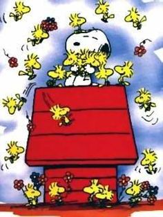#Snoopy and #Woodstock and friends...