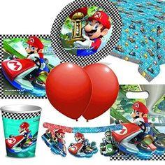 Mario Kart Perfekte Party set für 8