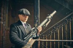 After creating the Bafta-winning gangster drama which unveils season five on BBC One this spring, with a sixth series shooting later this year, Steven Knight is now planning his most ambitious production yet – a film and TV studio in the West Midlands. Peaky Blinders Thomas, Cillian Murphy Peaky Blinders, Birmingham, Cillian Murphy Tommy Shelby, Steven Knight, Red Right Hand, Roaring Twenties, Tom Hardy, Dieselpunk