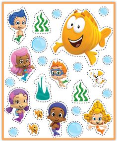 1aitoBB On Pinterest Bubble Guppies Guppies Party And