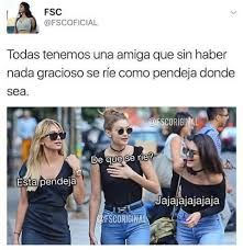 Read jajaja amiga from the story imagenes la reina by (Samantha Reyes) with 178 reads. Funny Spanish Memes, Spanish Humor, Funny Jokes, Hilarious, Mexican Memes, Crazy Friends, Girl Memes, Bff Quotes, Best Friends Forever