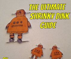 This Instructable will guide you through the entire Shrinky Dink process. I have worked with and tweaked Shrinky Dinks to a whole new art medium. With the ability to print ...