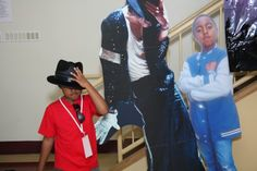 Two of me with MJ
