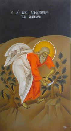 Ο Δικαιος Νωε Religious Icons, Religious Art, Byzantine Icons, Orthodox Christianity, Art Icon, Orthodox Icons, Sacred Art, Pet Birds, Saints