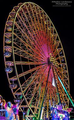 Kirmes in Köln-Deutz / Fun fair in #Cologne