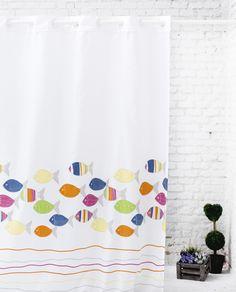235-Acuario Curtains, Deco, Prints, Shower Curtains, Aquarium, Home, Decor, Deko, Decorating