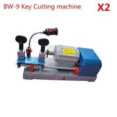 167.45$  Buy here - http://aligav.worldwells.pw/go.php?t=32707316736 - 2PCS/LOT Multi Functional Chucking BW-9 Key Duplicating Machine 220v/50hz Vertical Key Cutter Defu Locksmith Cutting Tools 167.45$