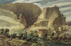 European Art Prints | Brooklyn Museum: European Art: Fontaine de Vaucluse