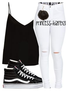 """*"" by princess-kia54321 ❤ liked on Polyvore featuring Raey, Vans, Victoria's Secret PINK and Charlotte Russe"