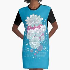 This lovely daisy design will look great on apparel, decor or accessories. For more awesome designs visit grandpastees.redbubble.com.  #daisy #flowers #redbubble #findyourthing
