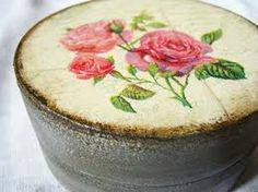 shabby chic box/so lovely and could be used to hold most anything!