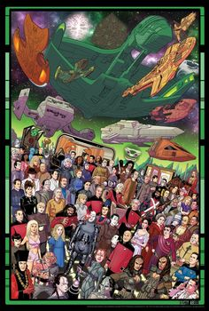 Who Is Missing From These Star Trek: TNG 30th Anniversary Posters? – Nerd Approved – News For Nerds