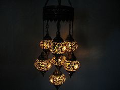 7 ball Multi-colored mosaic hanging glass chandelier cand... http://www.amazon.com/dp/B01GE5TF00/ref=cm_sw_r_pi_dp_cmztxb1GK9TZ5