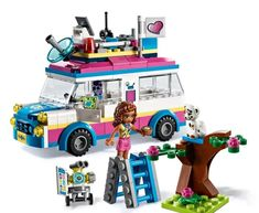 Buy LEGO Friends 41333 Olivia's Mission Vehicle from our Construction Toys range at John Lewis & Partners. Buy Lego, All Is Well, Lego Friends, 12 Year Old, Park City, More Fun, Robot, Ladder, Dolls