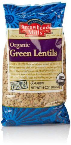 Arrowhead Mills Organic Green Lentils... (bestseller)
