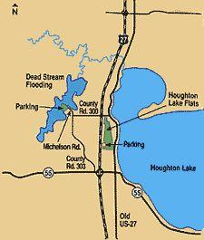 Roscommon County Michigan 1911 Map Rand Mcnally St Helen