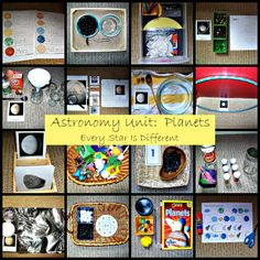 Every Star Is Different: Astronomy Unit: Planets