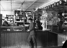 General store Godthaab in Reykjavík, ca. 1910