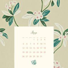newlayer – calendario retro vintage