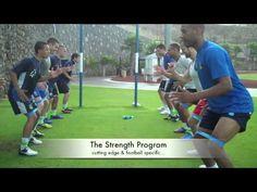 Pre Season Football Training Camp - Total Football Performance - YouTube