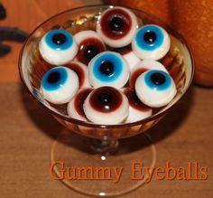 An easy tutorial on how to make gummy eyeballs using our gummy recipe.