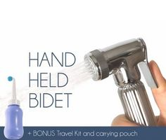 Barrantyne Releases Handheld Bidets with Ergonomic Design, read more at  http://prsync.com/ggmedia/barrantyne-releases-handheld-bidets-with-ergonomic-design-1038231/ #home #hotels #bidet