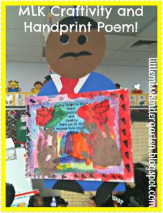 Little Miss Kindergarten - Lessons from the Little Red Schoolhouse!: MLK Activities AND Freebie!