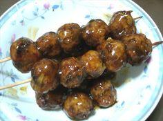 Japanese Meatballs In Sweet Soy Sauce Niku Dango) Recipe - Food.com - 149716