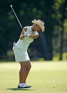 Michelle McGann (b.1969)... LPGA golfer and type 1 diabetes mellitis since age 13 years.
