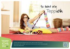 So bunt wie Teppich. Teppichboden begeistert mit kreativer Vielfalt: Bekennen Sie Farbe und richten Sie sich auf ein Zuhause voller Ideen ein! Wie auch immer Sie wohnen - Teppichboden bietet Ihnen maximalen Gestaltungsspielraum: Kein anderer Bodenbelag inspiriert mit Formen, Farben, Materialien, Strukturen und Mustern wie das Trendprodukt Teppichboden. Der Fachhandel und das Fachhandwerk haben das Know-how, um Sie kreativ beraten zu können.