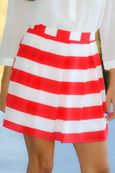 The Red Dress Boutique/EVERLY:Cake For Breakfast Skirt-Cherry