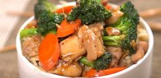 Teriyaki chicken and vegetables.  Easy and quick 30 mins meal.