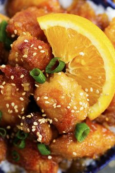 A delicious and tangy orange chicken that is made right in your slow cooker!  This is better than takeout and ...