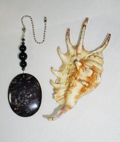 Black Gemstone,  Ceiling Fan Pull,  Crystal and Gemstone Gifts,  Housewarming…