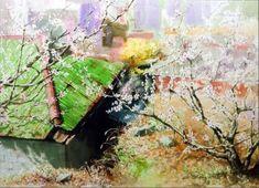 여백을 즐기는 수채화의 대가 [신종식] 화가 : 네이버 블로그 Watercolor Landscape, Watercolor And Ink, Watercolor Paintings, Watercolours, Pictures To Draw, Artsy, Drawings, Illustration, Vietnam