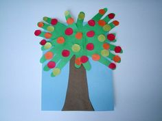 These would be great as apple trees at start of year....OR take away dots and add just a few coconuts and letters to spell child's name (foam, from magazine, etc) and use for Chicka Chicka unit! :)