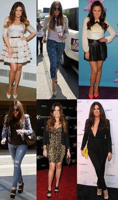 Khloe Kardashian Style File i love it!!..
