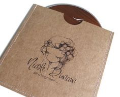 Custom Stitched CD Sleeves by BentTreeStudios on Etsy,