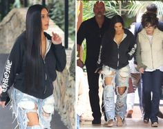 Would you rock Kim Kardashian's stressed jeans