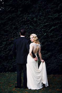 olha para o noivo
