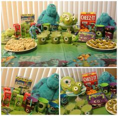 Monsters INC Party- omg so need this for Masons 2nd birthday!!! Hes obsessed with mike and sully haha