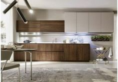 Materika - modern - Kitchen Cabinets - Other Metro - Pedini Kitchens Modern Kitchen Cabinets, Wooden Kitchen, Kitchen Cabinet Design, Kitchen Interior, Kitchen Dining, Kitchen Decor, White Wood Kitchens, Shop Interiors, Minimalist Kitchen