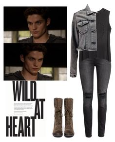 """Kaleb / Kol Mikaelson - The Originals"" by shadyannon ❤ liked on Polyvore featuring H&M, Lovers + Friends, Boohoo and Sam Edelman"