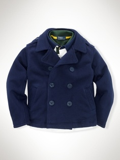 Pea Coat for lil' boy