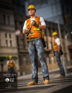 Construction Worker G2M G3M