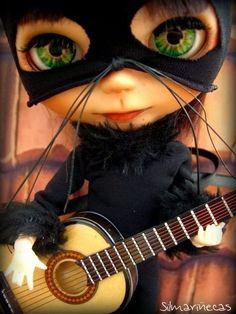Basaak doll disfraz de gato